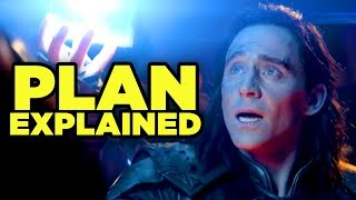 Avengers Infinity War - WHAT WAS LOKI\'S PLAN? (Ragnarok Tesseract Theory!)
