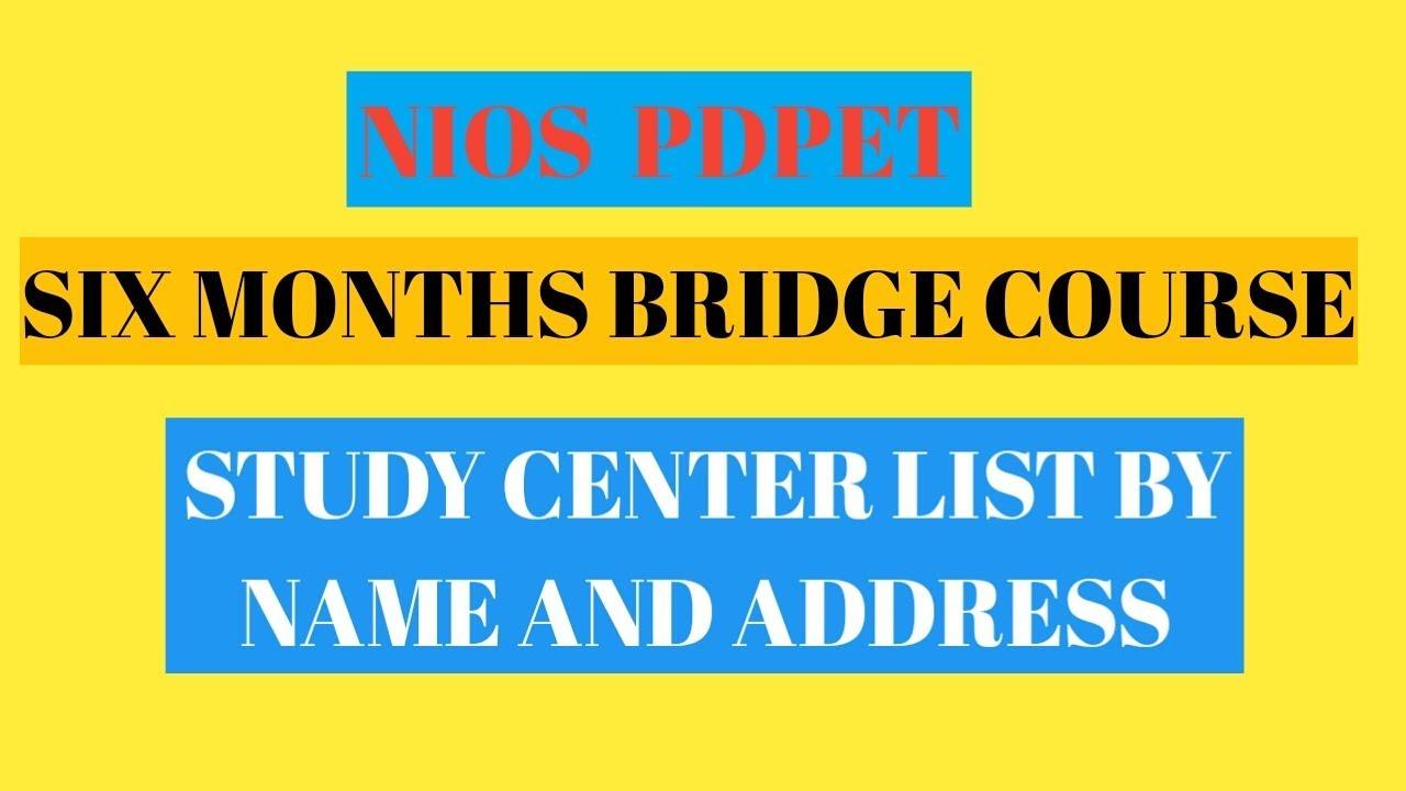 6 Months Bridge Coursestudy Center Listbedi Online Clip