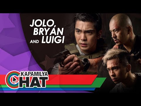 Kapamilya Chat with Jolo, Bryan and Luigi Revilla for their movie Tres