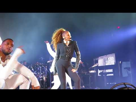 Janet Jackson - State of the World Tour - San Antonio, TX - BurnitUP/Nasty/Feedback