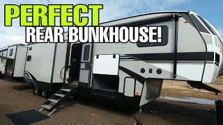 GAME CHANGER! Awesome REAR Bunkhouse Fifth Wheel RV! Coachmen Chaparral 367BH