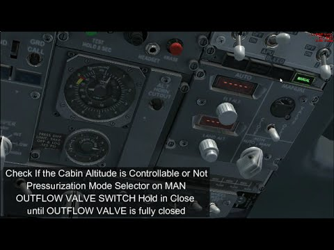 [FSX] PMDG 737NGX Rapid Decompression Emergency Descent Tutorial by a B737 Real Life Pilot