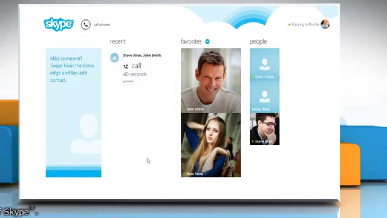 How to make a conference in Skype (Skype) 48