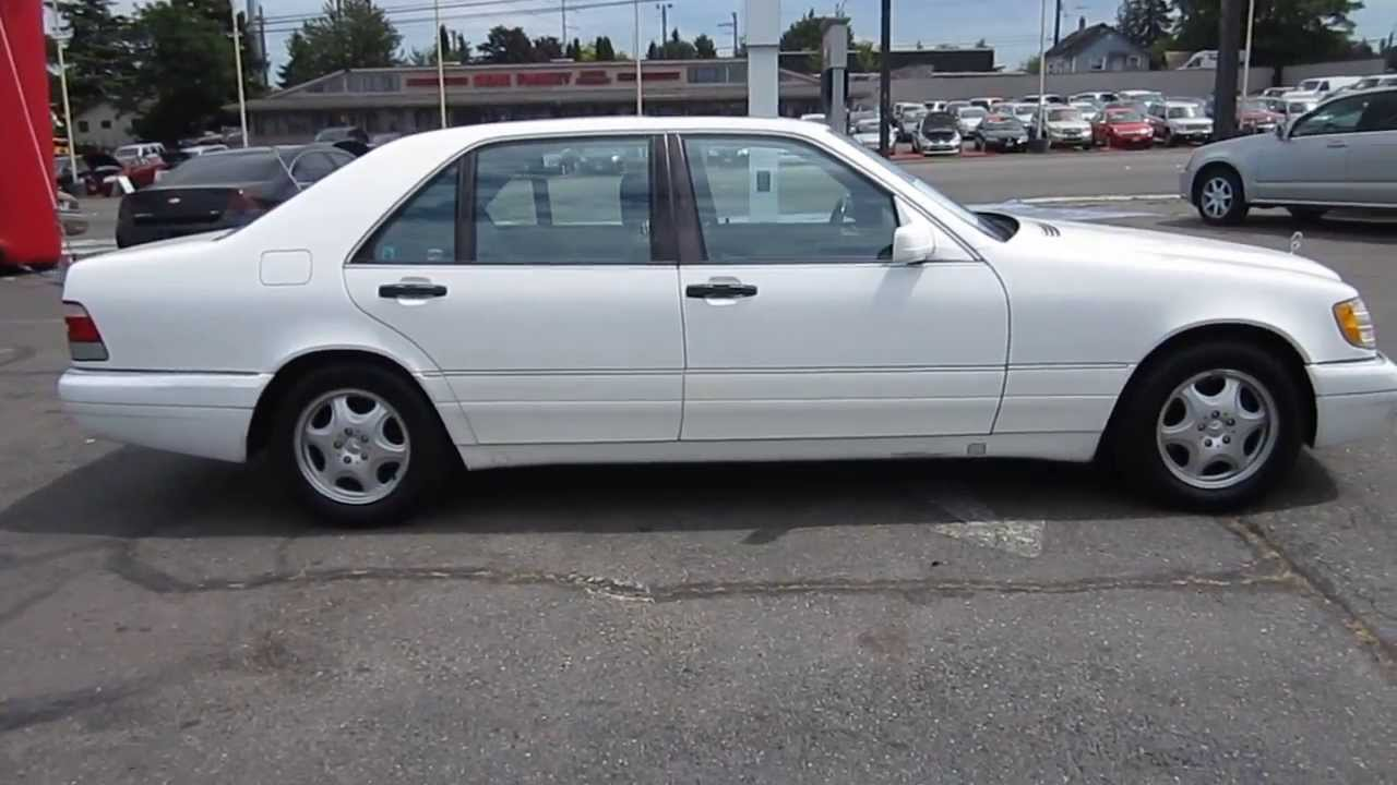 1997 mercedes benz s320 white stock 11139 youtube for 1997 mercedes benz s320