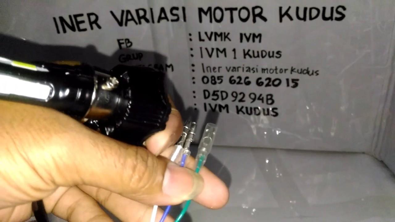 Lampu Utama Led Motor Rtd 4 Sisi Asli Low 20w High 40w Ac Dc Kipas 3 40 Watt Iner Variasi Ivm Kudus