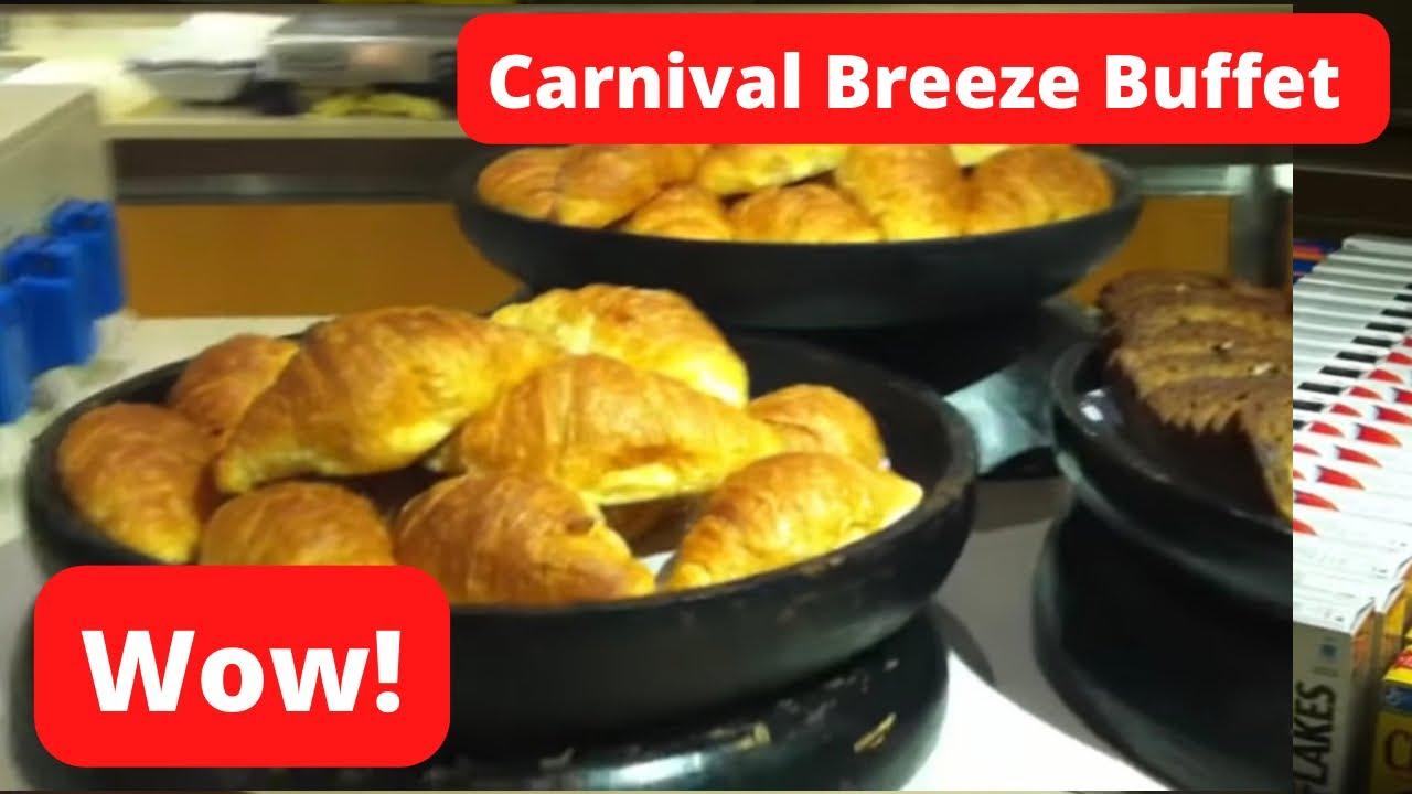 Brunch In A Breeze: Carnival Breeze Breakfast Buffet