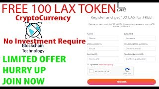 Free 100 Crypto Token | LAX | Get 100 Tokens Now - Worth 10$ - Upcoming Crypto Currency
