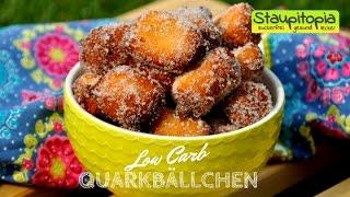 Low Carb Mini-Quarkbällchen selber machen I Nachtisch mit Quark I Low Carb Magerquark Rezepte