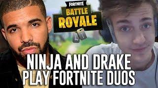 Video Ninja and Drake Play Duos!!! - Fortnite Battle Royale Gameplay - Game 2 download MP3, 3GP, MP4, WEBM, AVI, FLV Agustus 2018