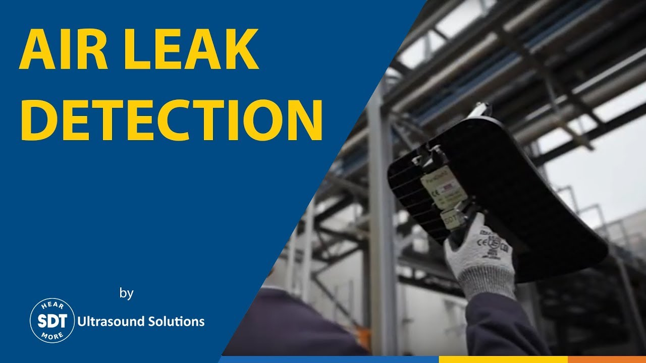 Compressed Air Leak Detection Using Ultrasound Youtube