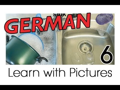 Learn German - German Kitchen Vocabulary