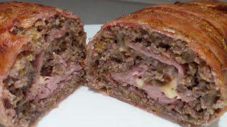 Rollo de carne , receta súper fácil !