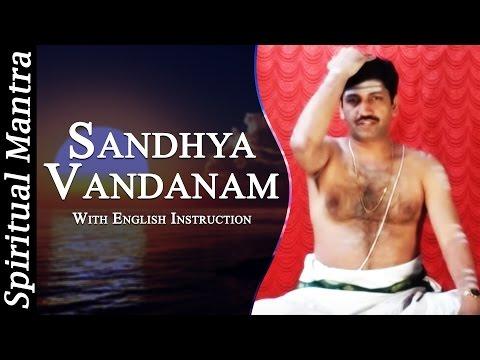 Sandhyavandanam in See Learn And Perform Sandhyavandanam (Yajur - Smartha)