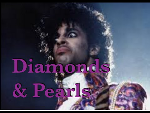 Cover of Diamonds and Pearls - Prince.