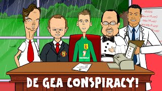 David De Gea Transfer -CONSPIRACY THEORY! (Man Utd Paperwork Real Madrid Funny Cartoon)