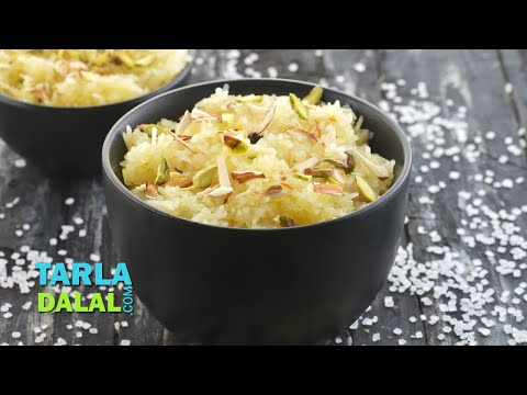 मिठा चावल (Sweet Rice / Quick Indian Festival Sweet Recipe / Meetha Chawal)  by Tarla Dalal