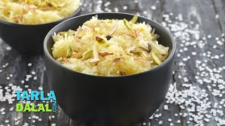 मिठा चावल  (Sweet Rice / Quick Indian Festival Sweet Recipe / Meetha Chawal) by Tarla Dalal