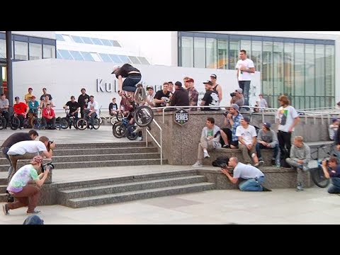 Huge BMX Street Series Jam in Berlin Germany
