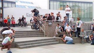 Huge BMX Street Series Jam in Berlin Germany
