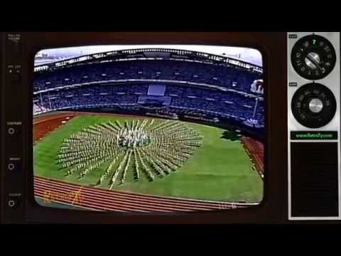 1988 - NBC - Summer Olympics Opening Ceremony Montage