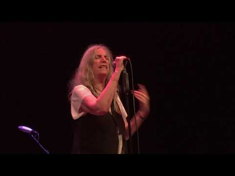 Patti Smith: Because the Night, Gloria, People Have the Power. Stockholm Waterfront 2019 Mp3