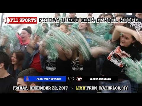 Penn Yan Mustangs vs. Geneva Panthers .::. FL1 Sports 12/22/17