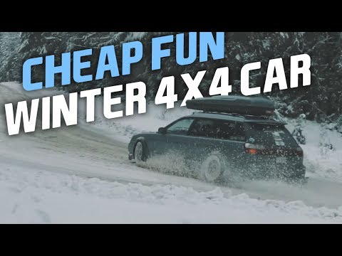 7 Of The Cheapest Fun 4x4 Cars For Winter