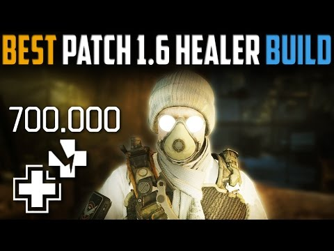 The Division | Patch 1.6 Tactician Healer Build/Guide | Infinite Sustain