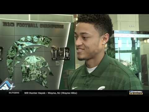 Hunter Rison on Signing to Michigan State