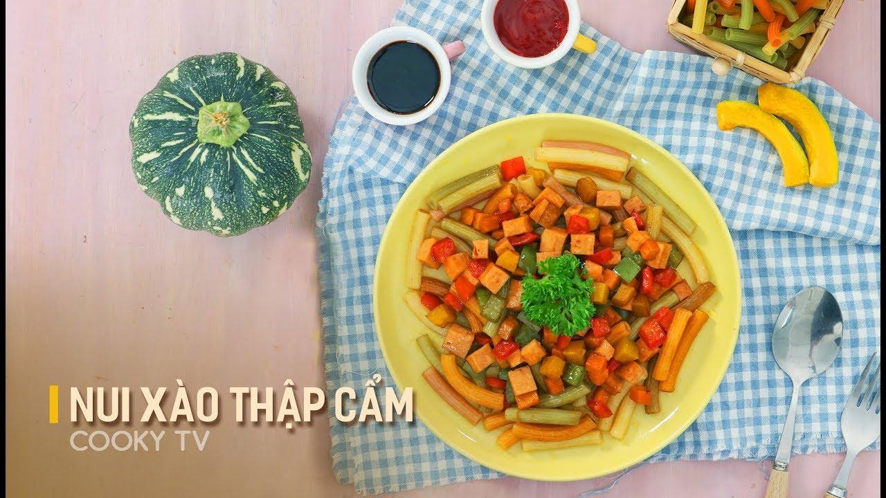 #CookyVN – Cách Làm Nui Xào Thập Cẩm thơm ngon đơn giản tại nhà – Cooky TV