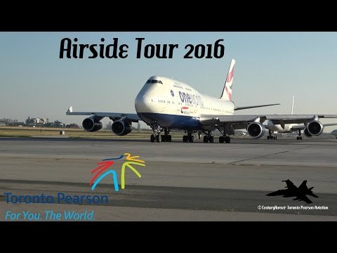 Toronto Pearson Int'l Airside Tour July 20, 2016
