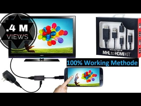 How to connect Android Smartphone to tv using hdmi cable