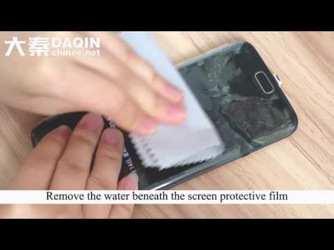 Dubai Kuwait - apply soft curved screen protector for Samsung Galaxy S7 Edge