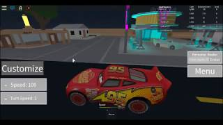 Roblox,Radiator Springs(Disney Pixar's Cars)