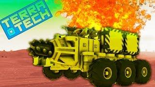 TerraTech #4 Игровой мультик про боевые машинки как конструктор лего. Много машин танков самолетов