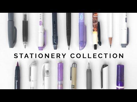Stationery Collection & Organization