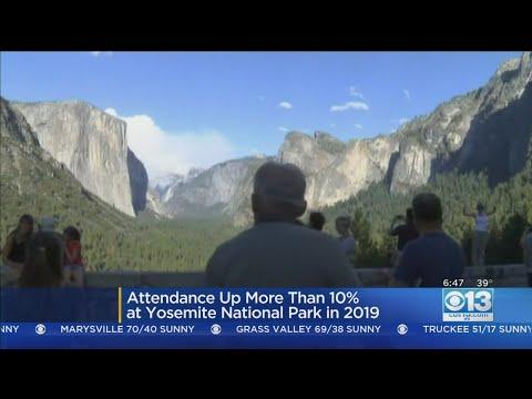 Attendance Up At Yosemite National Park