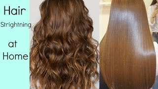How To Make Straight Hair Naturally In Hindi