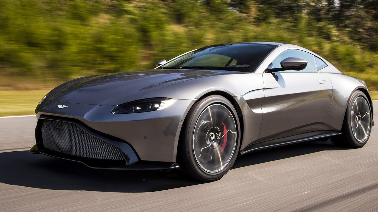 aston martin vantage 2018 powered by amg engine youtube. Black Bedroom Furniture Sets. Home Design Ideas