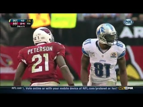 Calvin Johnson vs Patrick Peterson (2012) | WR vs CB Matchup