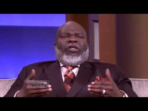 pastor T D Jakes on Steve  Harvey show