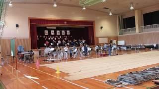 今年も金賞受賞の小学校吹奏楽部