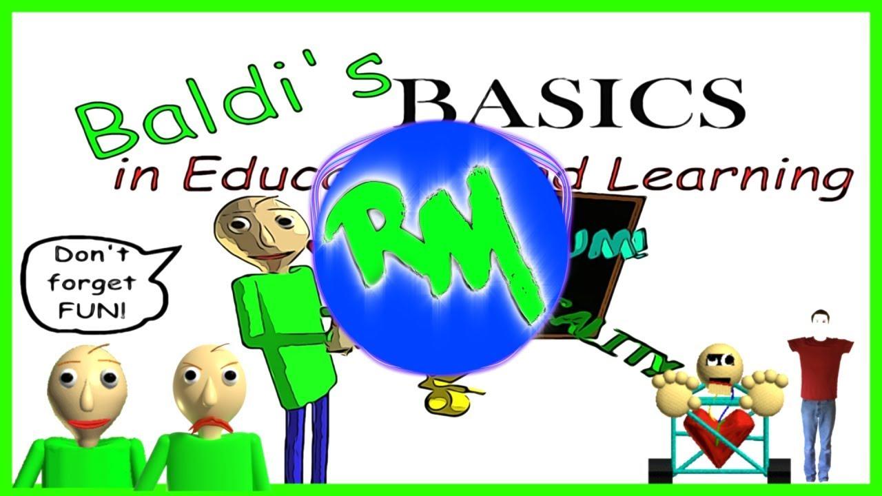 Baldi Basics Theme Remix Roblox Id Baldi S Basics Menu Music Remix Remix Maniacs Youtube