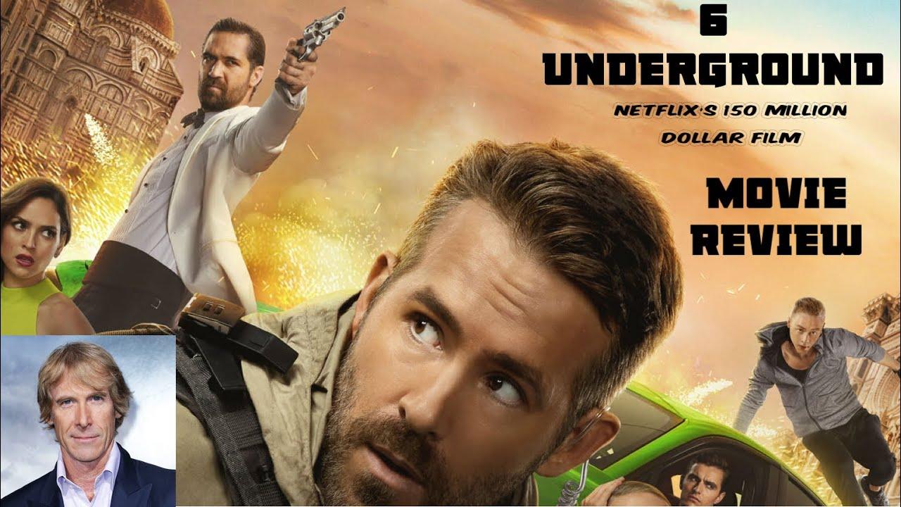 6 Underground Netflix Movie Review 2019 Ryan Reynolds