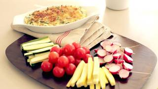 Spinach Artichoke Dip Recipe || Kin Eats