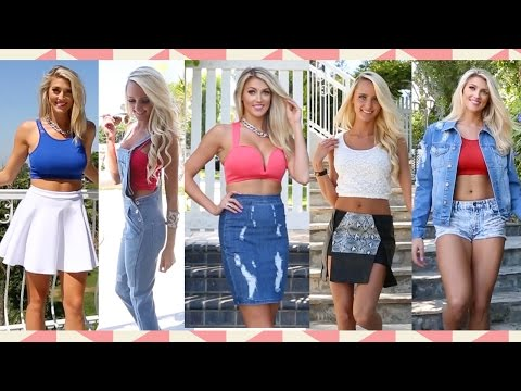 Look Inspirations: How To Style Your Cropped Tops. Http://Bit.Ly/2GPkyb3