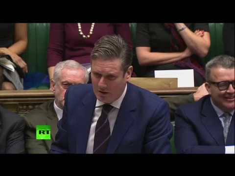 LIVE: Labour's Keir Starmer asks urgent question on Brexit in UK Parliament