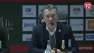 1878 TV | Pressekonferenz 06.01.2019 Augsburg-Düsseldorf 3:6