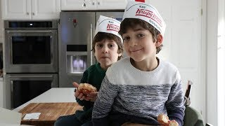 Krispy Kreme Doughnuts Party Time - Heghineh Family Vlogs