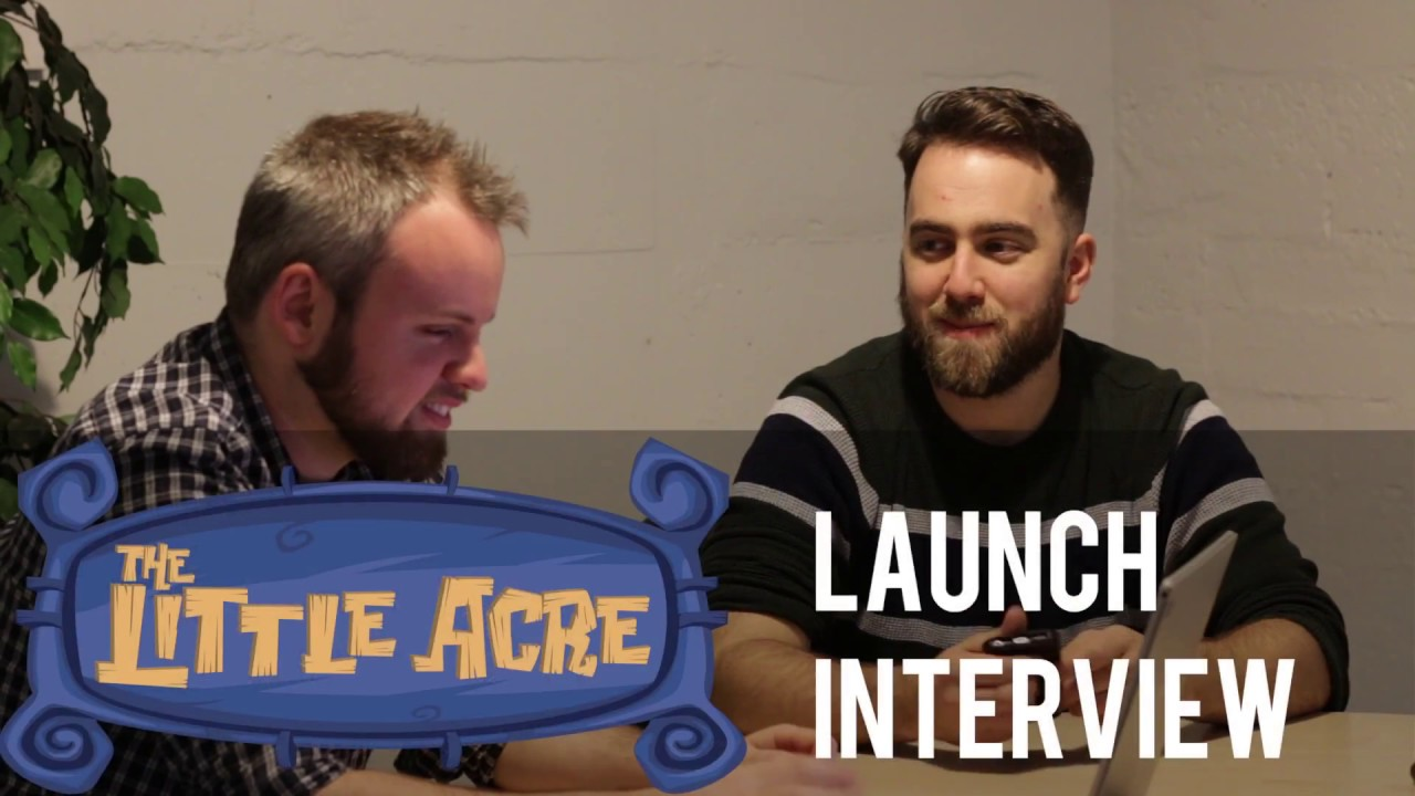The Little Acre Launch Interview Ps4 Xb1 Pc Youtube
